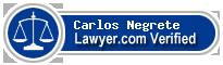 Carlos Francisco Negrete  Lawyer Badge