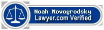 Noah Benjamin Novogrodsky  Lawyer Badge