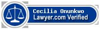 Cecilia Ify Onunkwo  Lawyer Badge