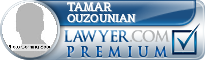 Tamar Ouzounian  Lawyer Badge
