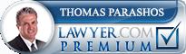 Thomas E Parashos  Lawyer Badge