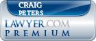 Craig Michael Peters  Lawyer Badge