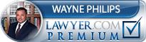 Wayne Philips  Lawyer Badge