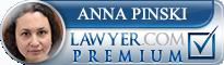 Anna Pinski  Lawyer Badge
