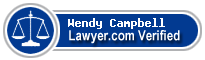 Wendy Pizarro Campbell  Lawyer Badge
