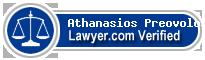Athanasios K Preovolos  Lawyer Badge