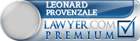 Leonard Thomas Provenzale  Lawyer Badge