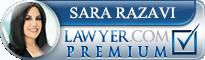 Sara E. Razavi  Lawyer Badge