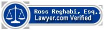 Ross K. Reghabi, Esq., LL.M  Lawyer Badge