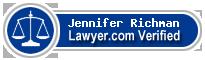 Jennifer Rice Richman  Lawyer Badge