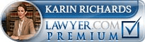 Karin Elisabeth Richards  Lawyer Badge