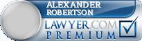 Alexander Phillip Robertson  Lawyer Badge