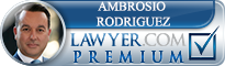 Ambrosio Eduardo Rodriguez  Lawyer Badge