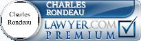 Charles Reinhardt Rondeau  Lawyer Badge