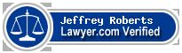 Jeffrey Travis Roberts  Lawyer Badge