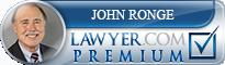 John R. Ronge  Lawyer Badge