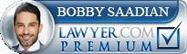 Babak Bobby Saadian  Lawyer Badge