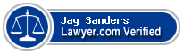 Jay Paul Sanders  Lawyer Badge
