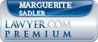 Marguerite La Shell Sadler  Lawyer Badge