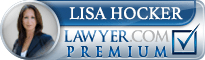 Lisa Hocker  Lawyer Badge