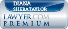 Diana Sherataylor  Lawyer Badge