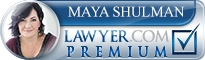 Maya Shulman  Lawyer Badge