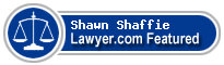 Shawn Shaffie  Lawyer Badge