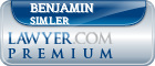 Benjamin Nichols Simler  Lawyer Badge