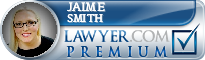 Jaime Smith  Lawyer Badge