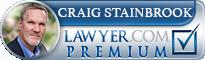 Craig M. Stainbrook  Lawyer Badge