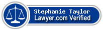 Stephanie Michelle Taylor  Lawyer Badge