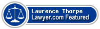 Lawrence William Thorpe  Lawyer Badge