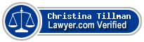 Christina Cusimano Tillman  Lawyer Badge