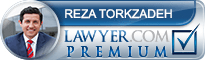 Reza Torkzadeh  Lawyer Badge