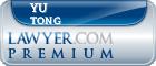 Yu Tong  Lawyer Badge