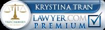 Krystina Tran  Lawyer Badge