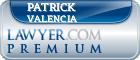 Patrick Samuel Valencia  Lawyer Badge
