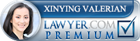 Xinying Valerian  Lawyer Badge