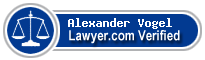 Alexander Nicholas Vogel  Lawyer Badge