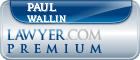 Paul Jeffrey Wallin  Lawyer Badge