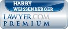 Harry G. Weissenberger  Lawyer Badge