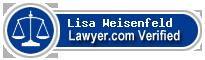 Lisa Robin Weisenfeld  Lawyer Badge
