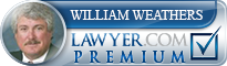 William Wray Weathers  Lawyer Badge