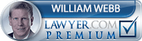 William Theodore Webb  Lawyer Badge