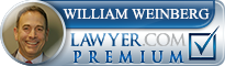 William Weinberg  Lawyer Badge