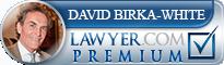 David Michael Birka-White  Lawyer Badge