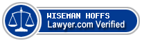 Alfred Joseph Wiseman  Lawyer Badge