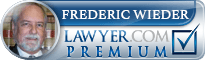 Frederic Steven Wieder  Lawyer Badge