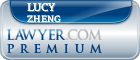Lucy Zheng  Lawyer Badge