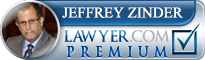 Jeffrey Edward Zinder  Lawyer Badge